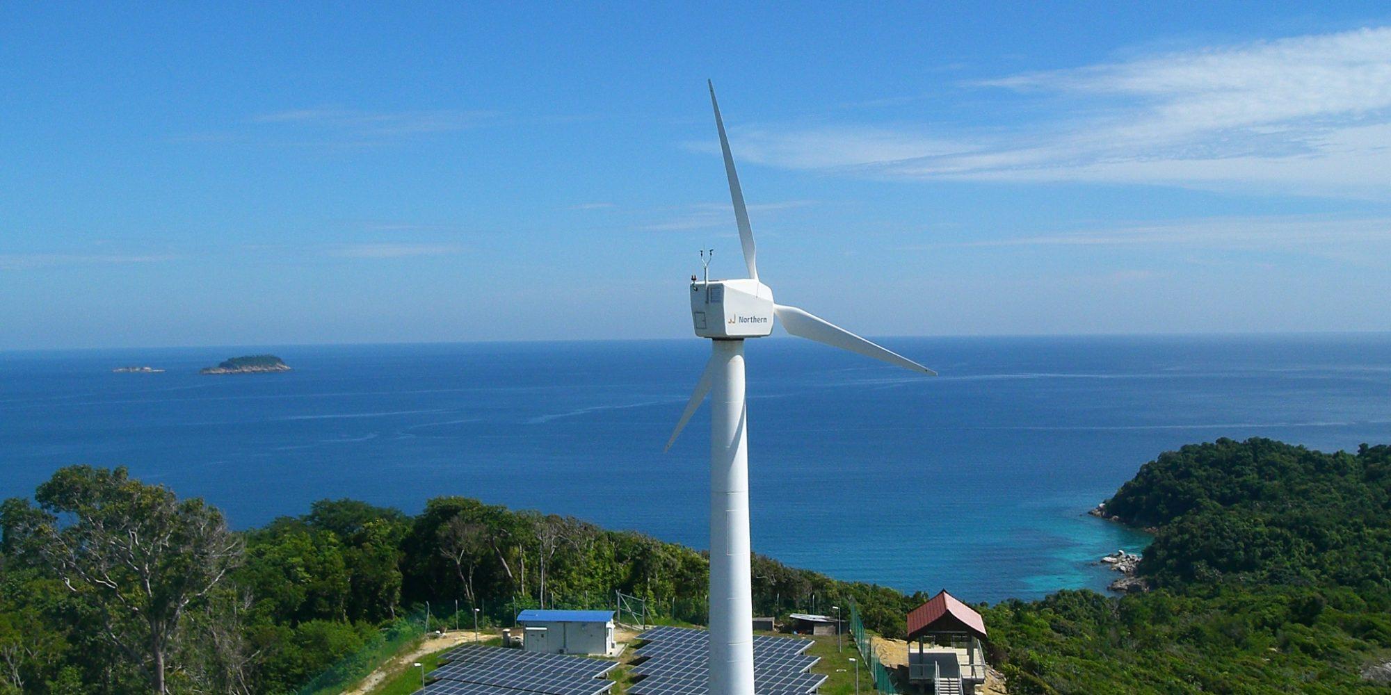 Perhentian Island Solar Hybrid System